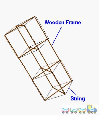 Guide to make a homemade box kite