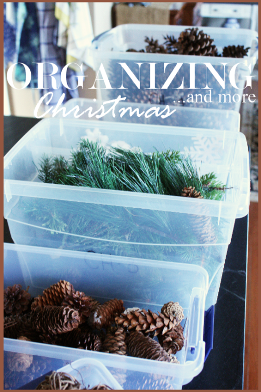 taking down christmas decorations and putting them away can be quite a chore i knew there had to be a better way of storing and organizing christmas - Organizing Christmas Decorations