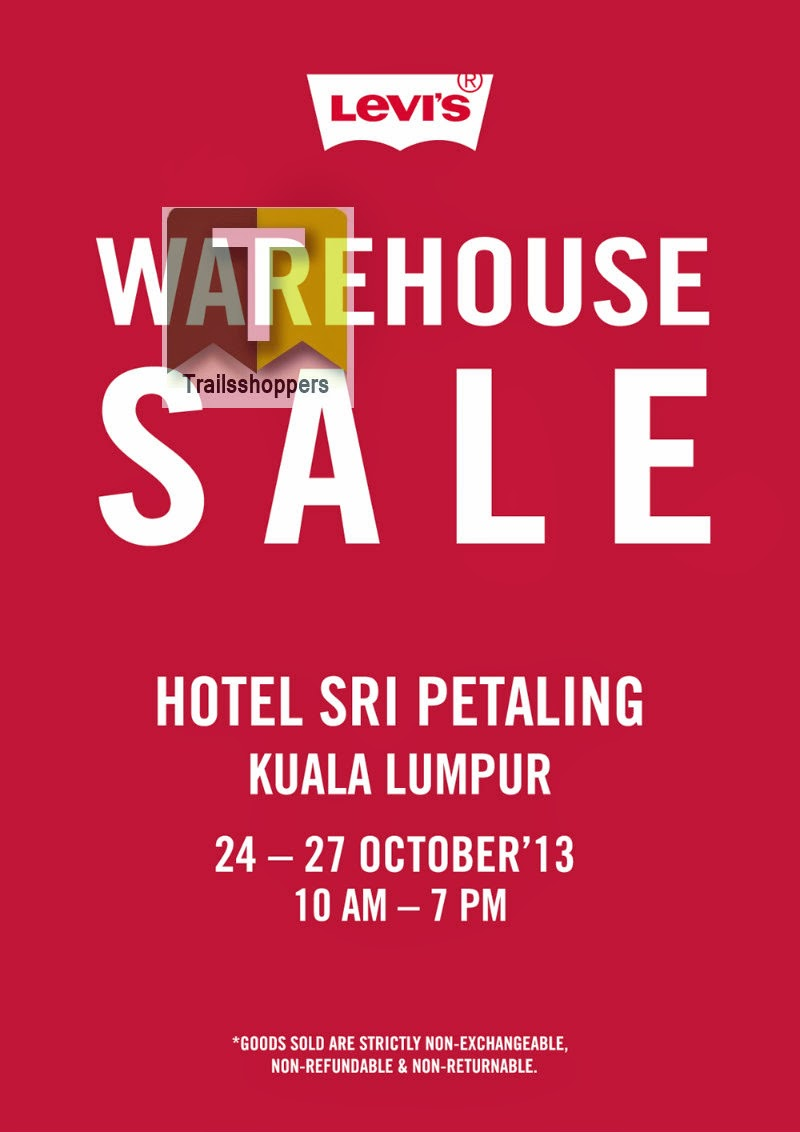Levi's Malaysia Warehouse Sale Kuala Lumpur