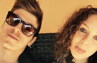 Giorgio Albanese e la fidanzata