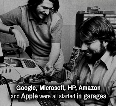 Companies started in a garage