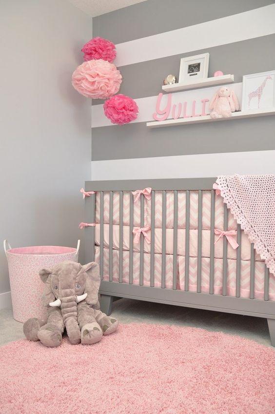 Kız Bebek Odaları İçin Fikirler :)