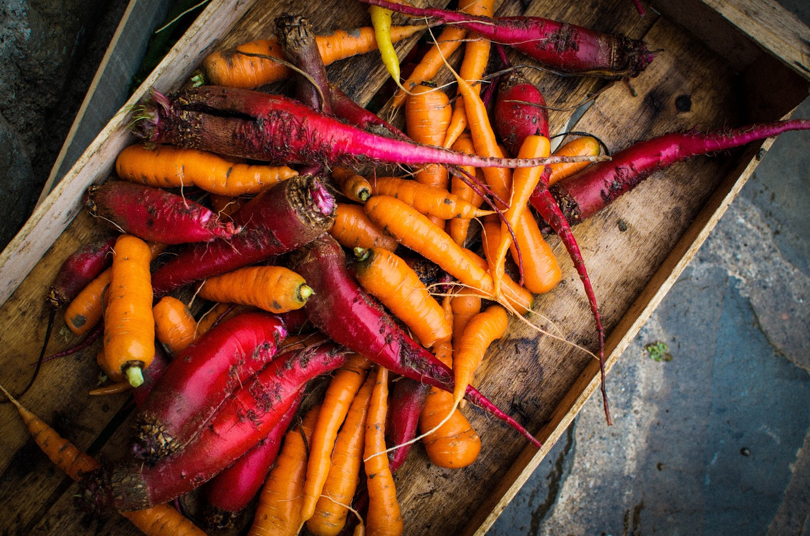 ... Marche Recipe Box: Roasted Root Vegetables {Heirloom Beets & Carrots