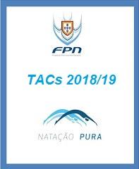 TACs Nacionais 2018/19