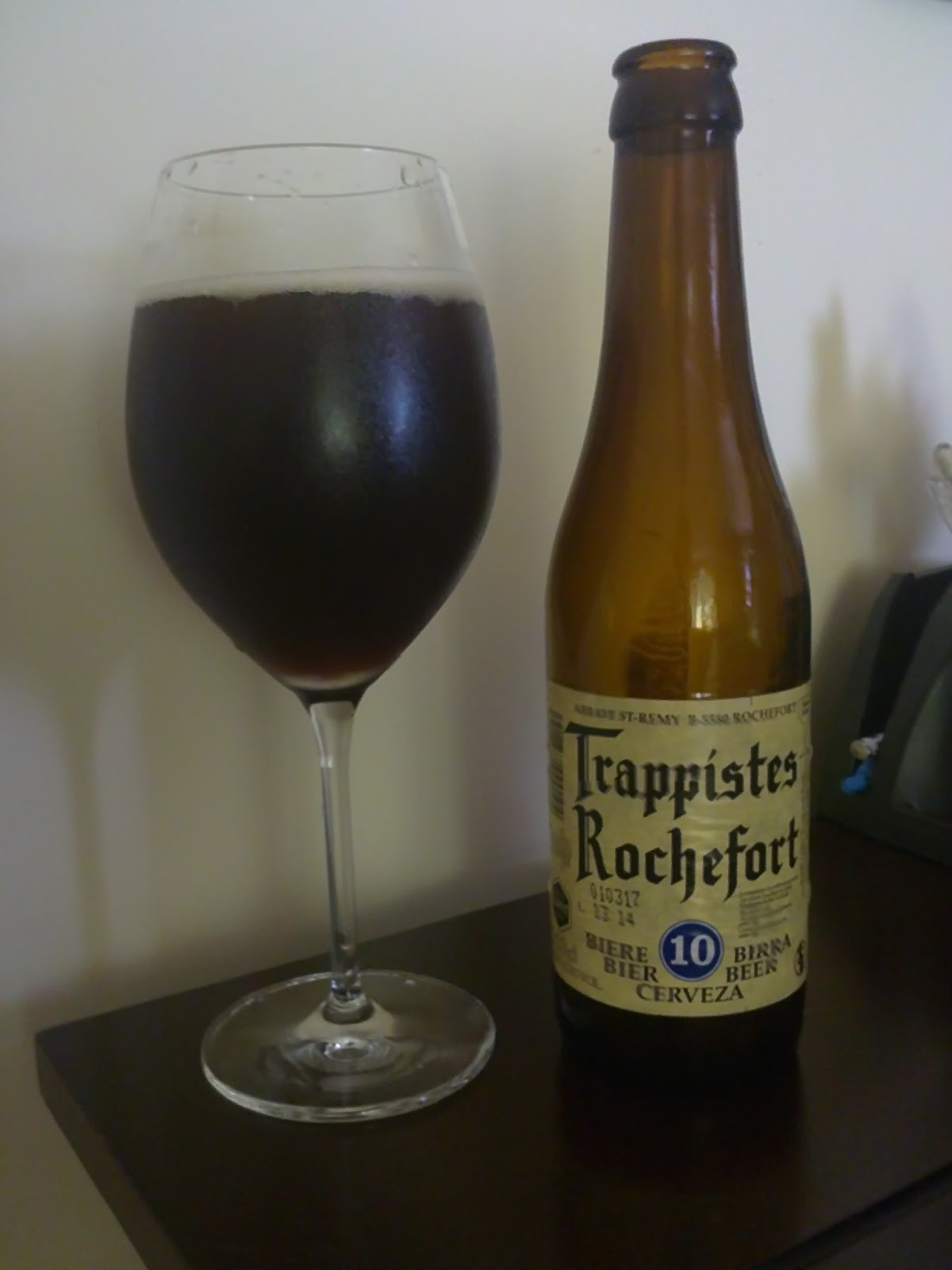 Beer Maven: Trappistes Rochefort 10 - Abbaye St-Remy ...