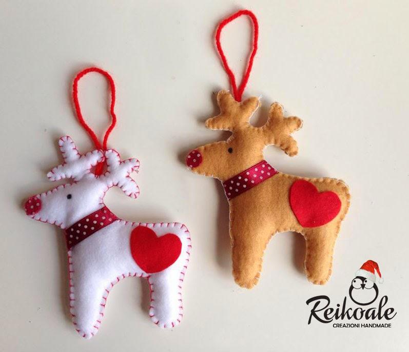 Reikoale decorazioni albero di natale - Decorazioni natalizie in feltro ...