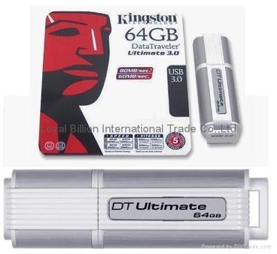 Kingston DataTraveler Ultimate 3.0 G2 usb 3.0 flash drive review