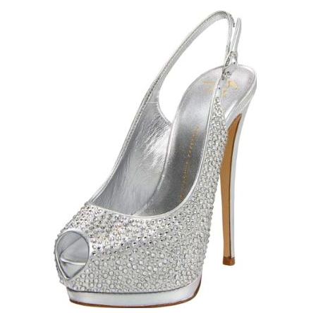 Свадебная обувь на высоком каблуке, Киев | таких