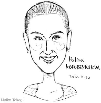 フィギュアスケートのポリーナ・ ポリーナ・コロベイニコワ | 貴木まいこ