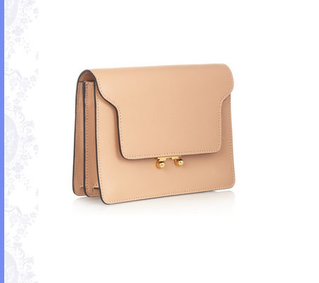 Grace Intemporelle: Marni leather clutch