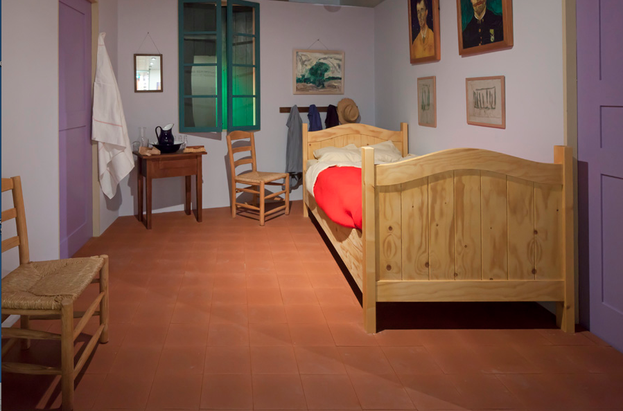 artsnfood closely looking at van gogh 39 s bedroom at arles