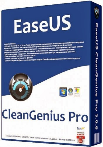 Download EaseUS CleanGenius Pro 4.0.2 + Crack