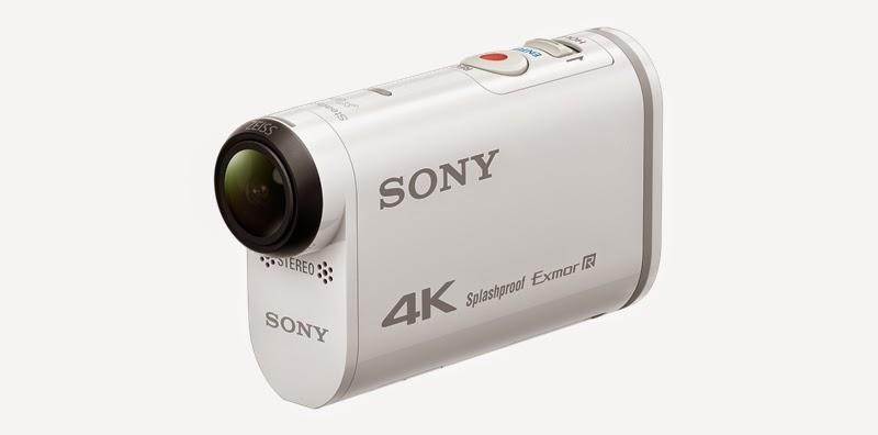 Sony FDR-X1000V новая 4K-экшен камера