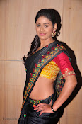 Actress Maneesha Photos in Saree-thumbnail-3