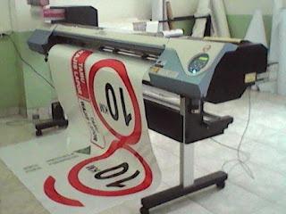 cutting stiker, print stiker, stiker rambu