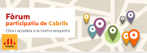 Fòrum participatiu de Cabrils
