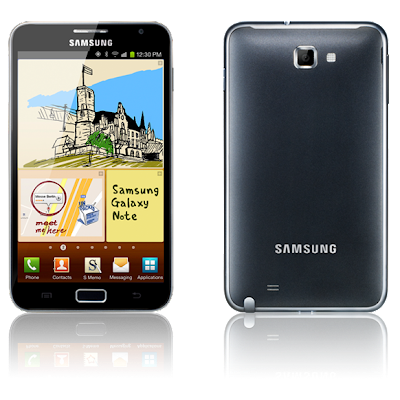 samsung galaxy note black