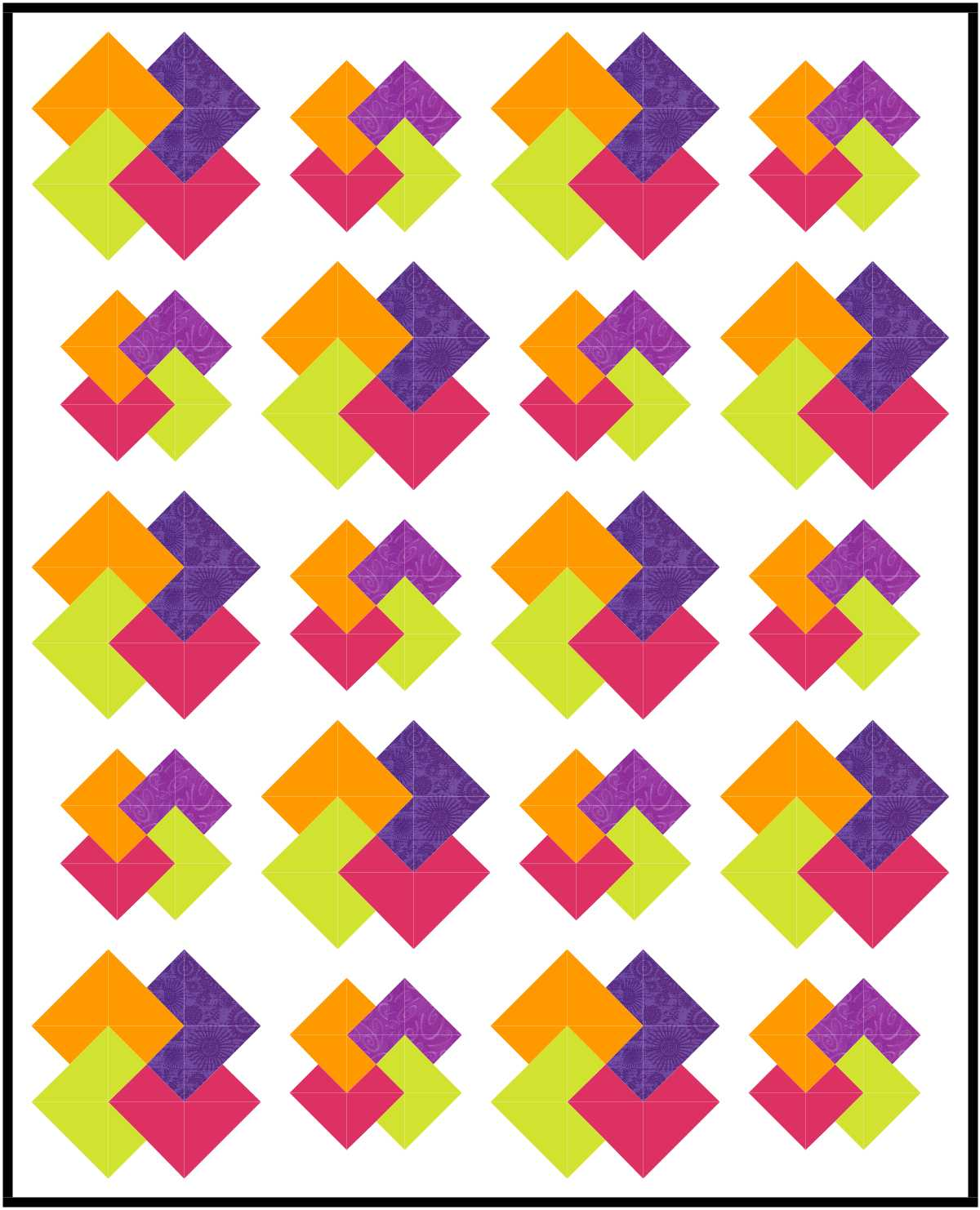 Buttons and Butterflies: Card Trick Block {Tutorial} : card trick quilt block - Adamdwight.com
