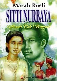 Resensi Novel Siti Nurbaya Karya Marah Rusli