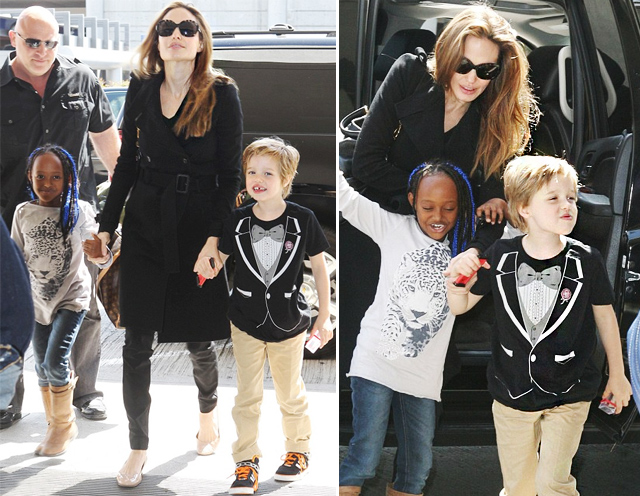 Shiloh Jolie Pitt Quer Mudar Seu Nome Para Shax Celebrities