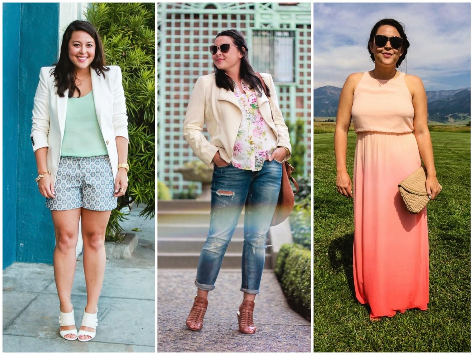 pastels, white blazer, pink maxi, boyfriend jeans
