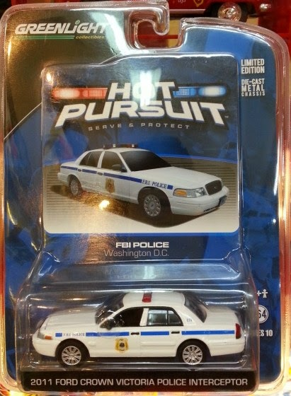 Greenlight 2011 Ford Crown Victoria Police