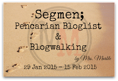 Segmen | Pencarian Bloglist oleh Mrs.Marble