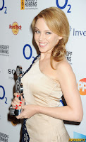 Kylie Minogue Nordoff Robbins O² Silver Clef Awards London