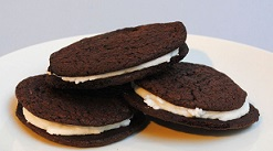 http://www.instructables.com/id/Homemade-Oreo-Cookie-Recipe/