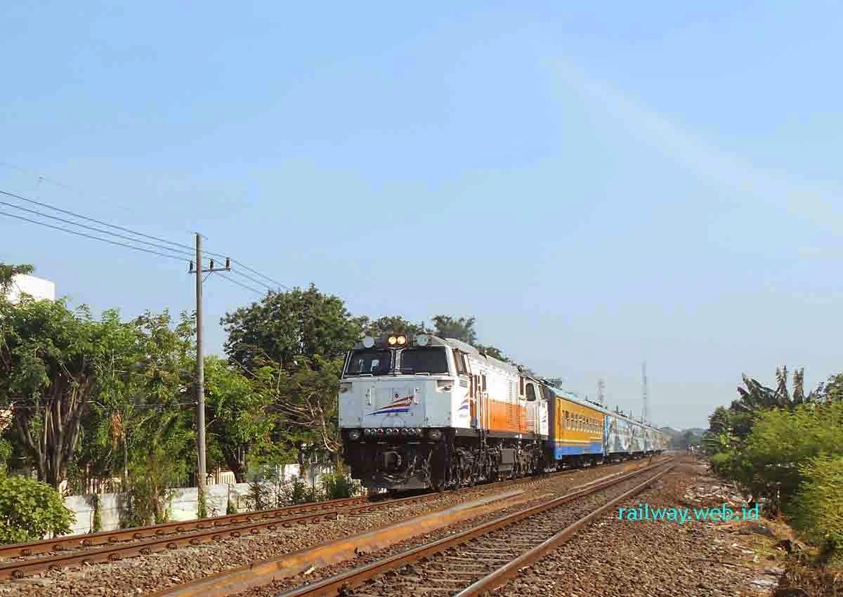 Kereta Api Penataran Ekspres Dihentikan