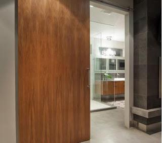 Fotos y dise os de puertas diciembre 2012 for Sistema para puertas corredizas