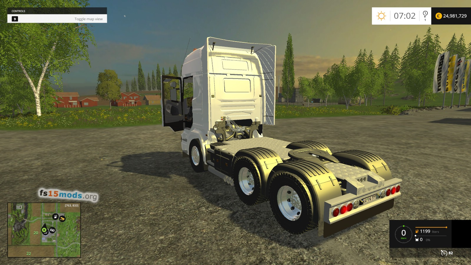 Scania R620 Fs15 Mods