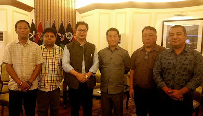 Bimal Gurung team meets Kiren Rijiju over Manipur, NCR Gorkha community security concern