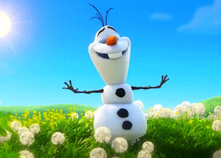 Wallpaper lucu Olaf Frozen