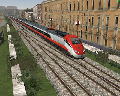 Железнодорожный транспорт в Италии