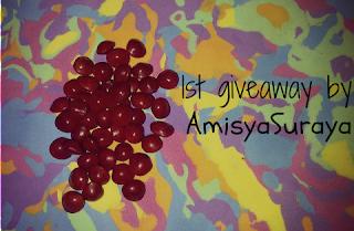 http://amisyasurayaramli.blogspot.com/2013/05/1st-giveaway-by-amisyasuraya.html