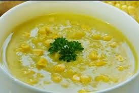 cara membuat soup jagung