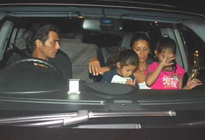 Rampal Family Arjun Rampal Family Pictures