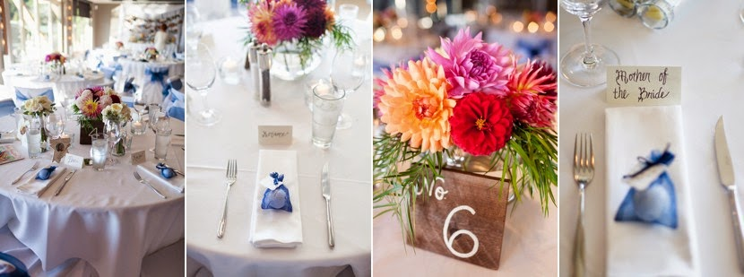 wedding table setting ideas photo