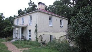 Bushrod Washington's carriage house attatched to Claymont mansion