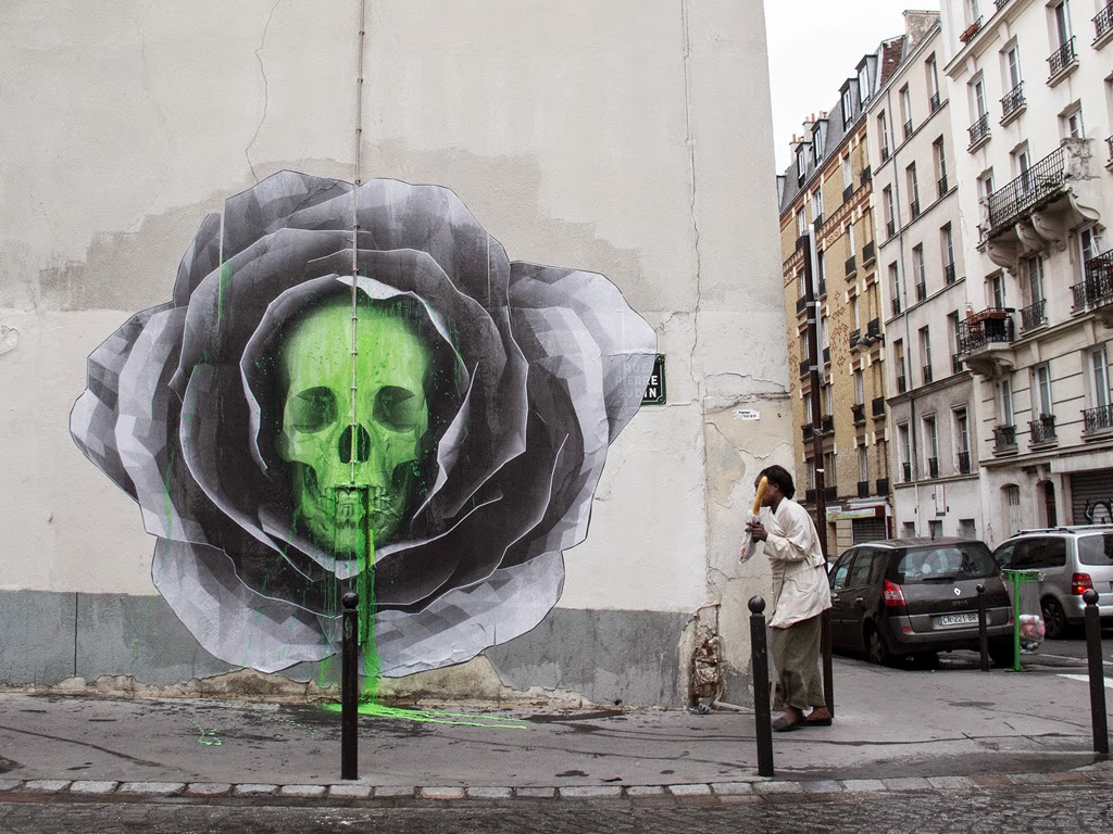 Ludo is back in his hometown of Paris in France where he spent his Sunday morning working on this new piece.