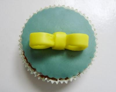 receta de cupcakes de plátano, con fondant - 3