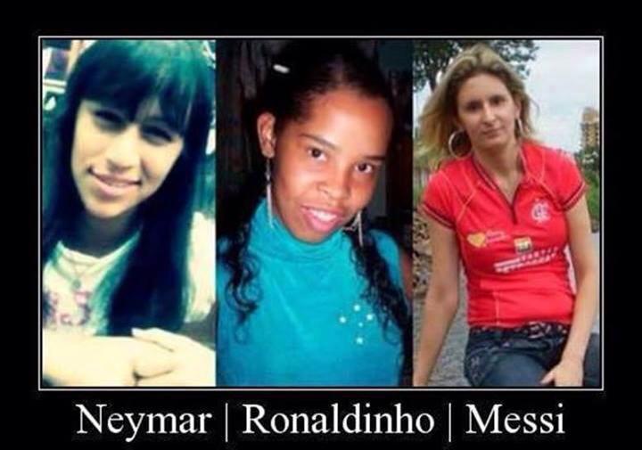 Image: The sisters of Messi, Neymar & Ronaldinho!! | Fc ...