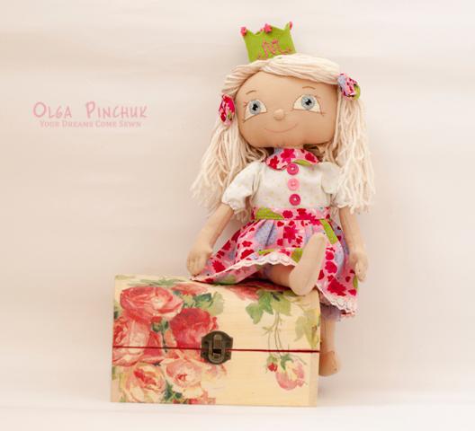 кукла, кукла принцесса, игровая кукла ручной работы, игровая кукла девочка, кукла заплетайка, интерьерная кукла, авторская кукла, кукла Ольги Пинчук, игрушки ручной работы киев, игровая кукла киев, игрушки киев