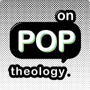 OPT, on pop theology, logo, podcast