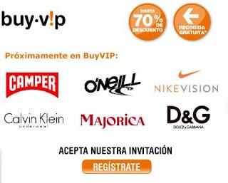 Rebajas con BuyVip, Tienda de ropa de moda outlet con descuentos de hasta el 70%