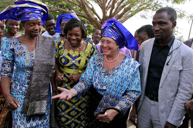 UN women chief visits Ushafa Pottery in Nigerian to empower women