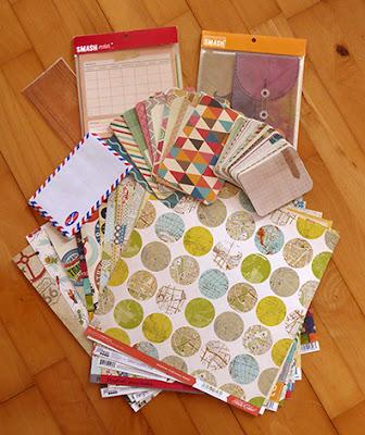 Smukt scrapbooking papir jeg skal lave bøger af