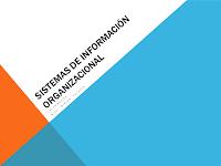 Sistemas de Información Organizacional