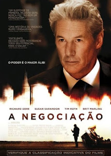 """Poster do filme """"A Negociação"""""""